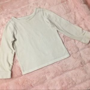 Cherokee White Long Sleeves T-shirt Size 3T